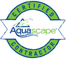 Shaylor's Ponds and Patios of Williamsport, PA is an Aquascape certified contractor