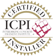 Shaylor's Ponds and Patios of Williamsport, PA is certified by ICPI