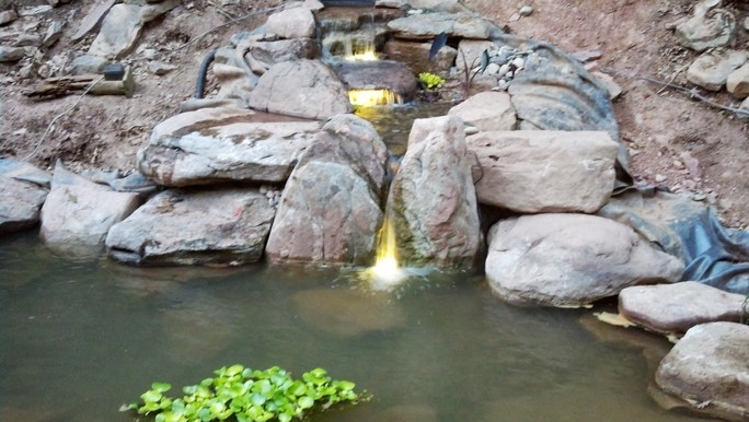 Shaylor's Ponds and Patios of Williamsport, PA specializes in the installation and maintenance of all-natural ponds