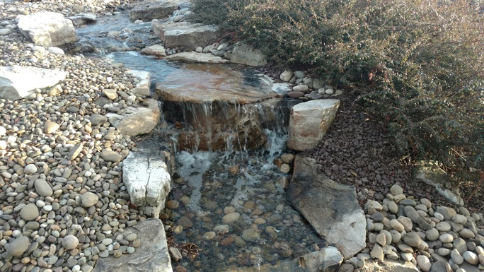 Shaylor's Ponds and Patios can install a custom water feature to help you relieve stress and relax in Williamsport, PA