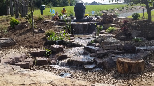Shaylor's Ponds and Patios offers professional landscape, hardscape, and waterscape design and installation services in Williamsport, PA